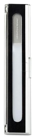 Bilde av Crystal Nail File liten (135mm i aluminium boks)- neglefilenes Rolls Royce