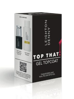 Bilde av TOP THAT! Gel overlakk for alle neglelakker + cleanser